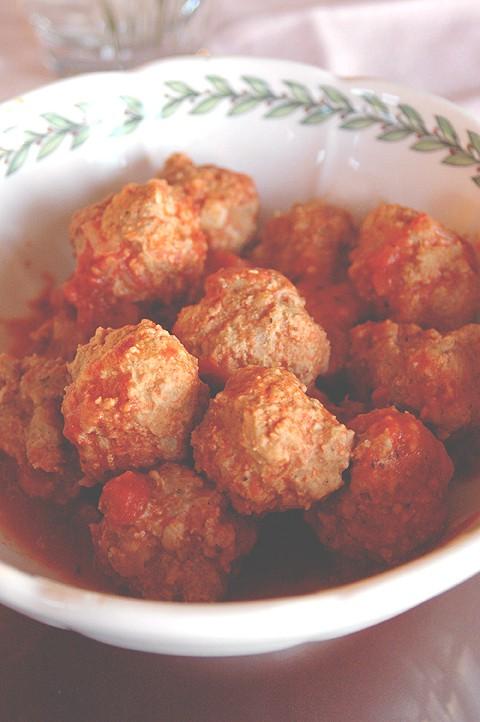 Healthy Turkey Meatballs and Sauce
