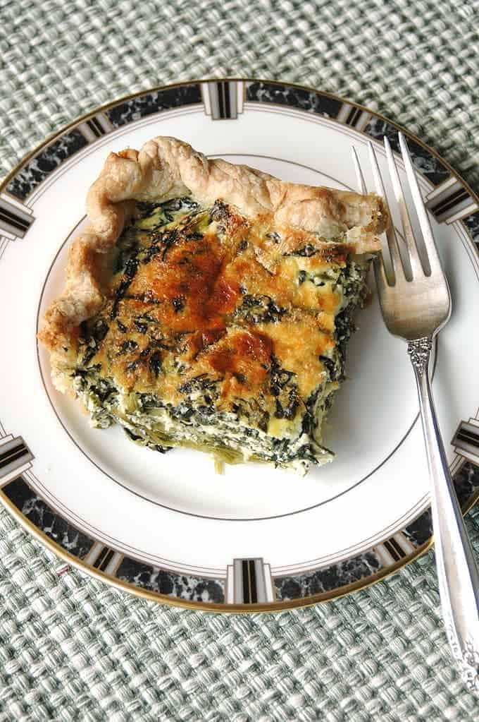 Mom's-Spinach-Ricotta-Pie
