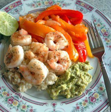 15-Minute Cilantro-Lime Shrimp