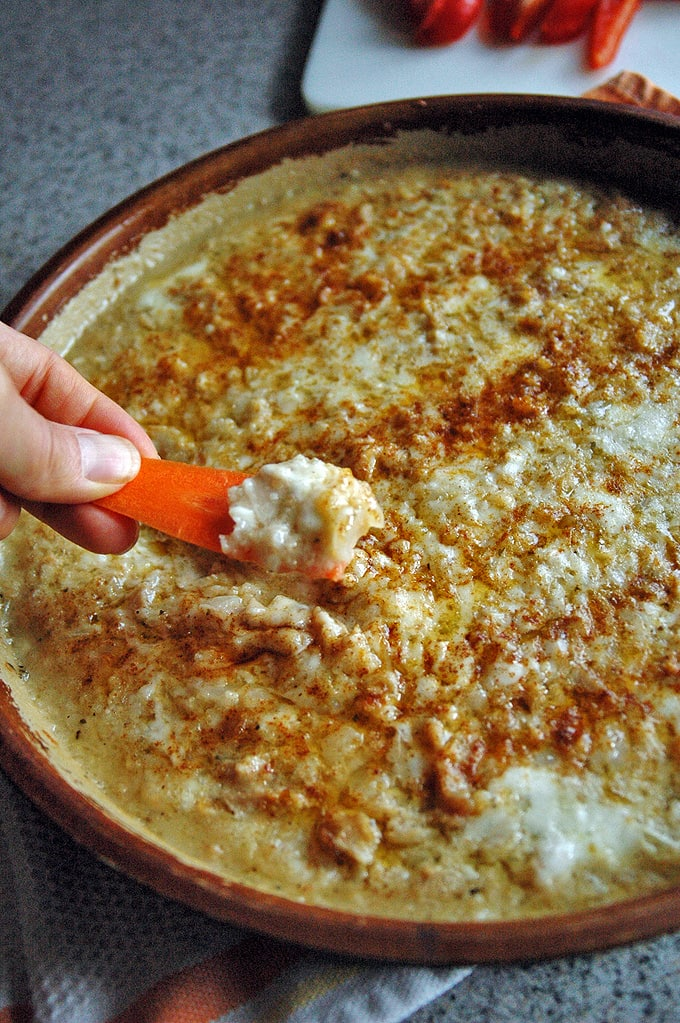 Clams Casino Dip (meatless)