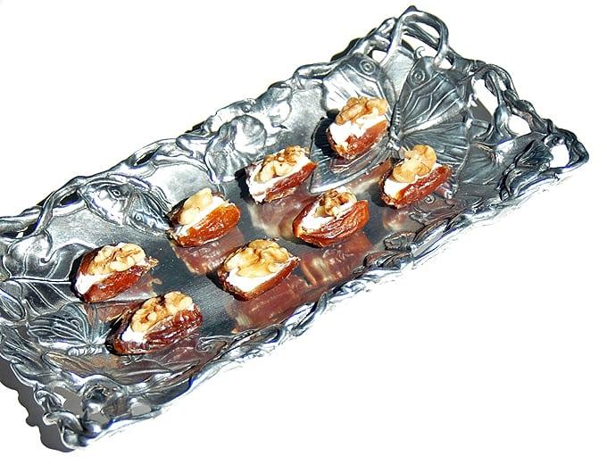 Date-Nut Cream Cheese Bites (Easy!)