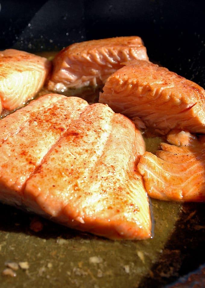 10-Minute Maple-Glazed Salmon