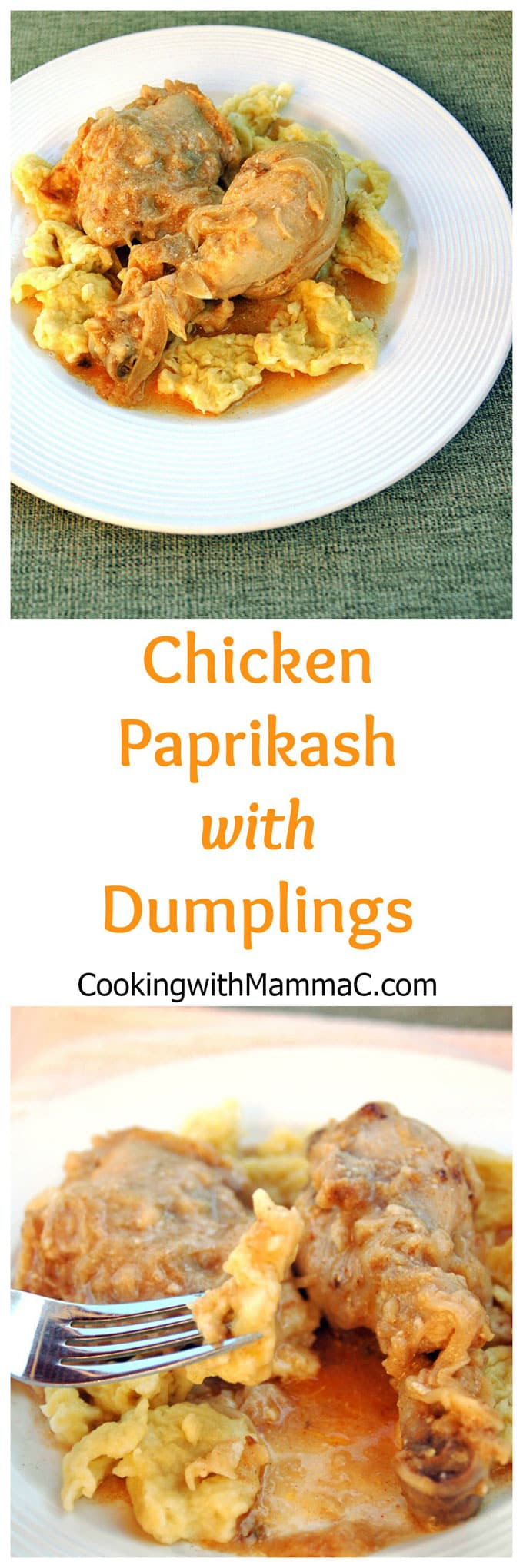 Chicken Paprikash with Dumplings is a family favorite and one of the most popular recipes on Cooking with Mamma C! I'm half Hungarian, so I had to get this right!