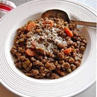 Smoky Lentil Stew