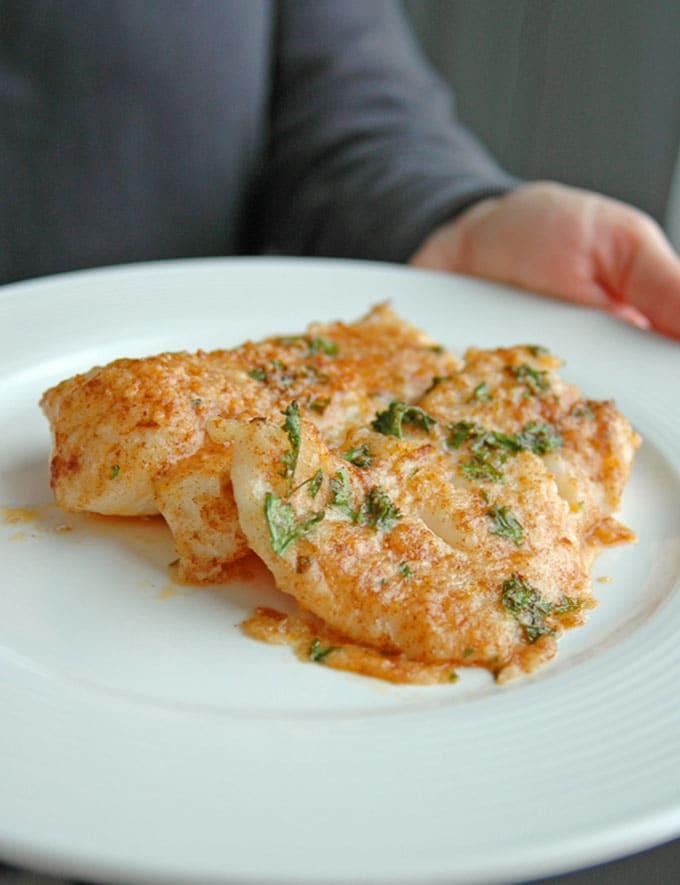 Lemon-Parmesan-Cod-with-Garlic-Butter