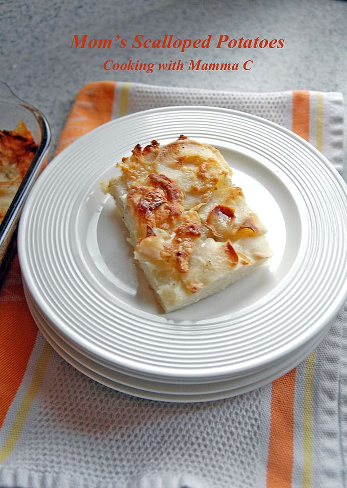 Mom's-Scalloped-Potatoes