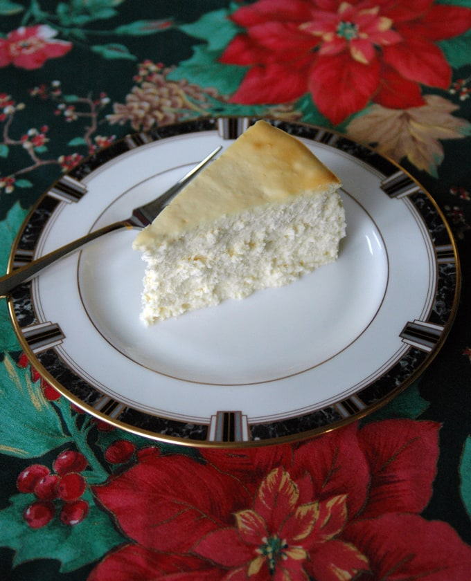 Fluffy-Crustless-Cheesecake