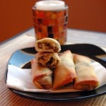 Crispy-Mushroom-Onion-Feta-Rolls
