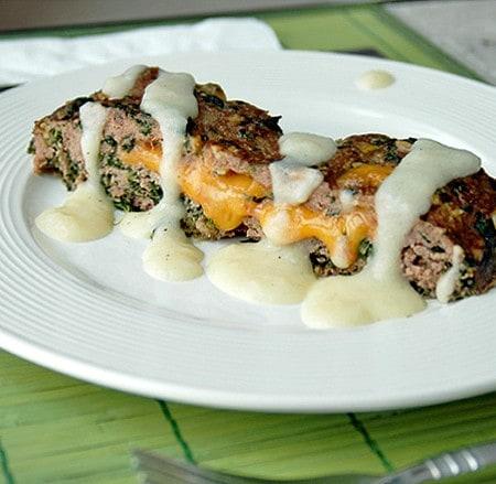 Cheddar-Stuffed-Meatloaf-with-Creamy-Potato-Gravy