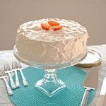 Orange Torte with Whipped Cream