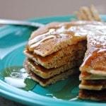 Cinnamon Almond Multigrain Pancakes