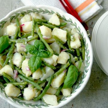 Italian-Potato-Salad-with-Green-Beans