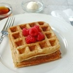 Yummy Buttermilk Whole Grain Waffles