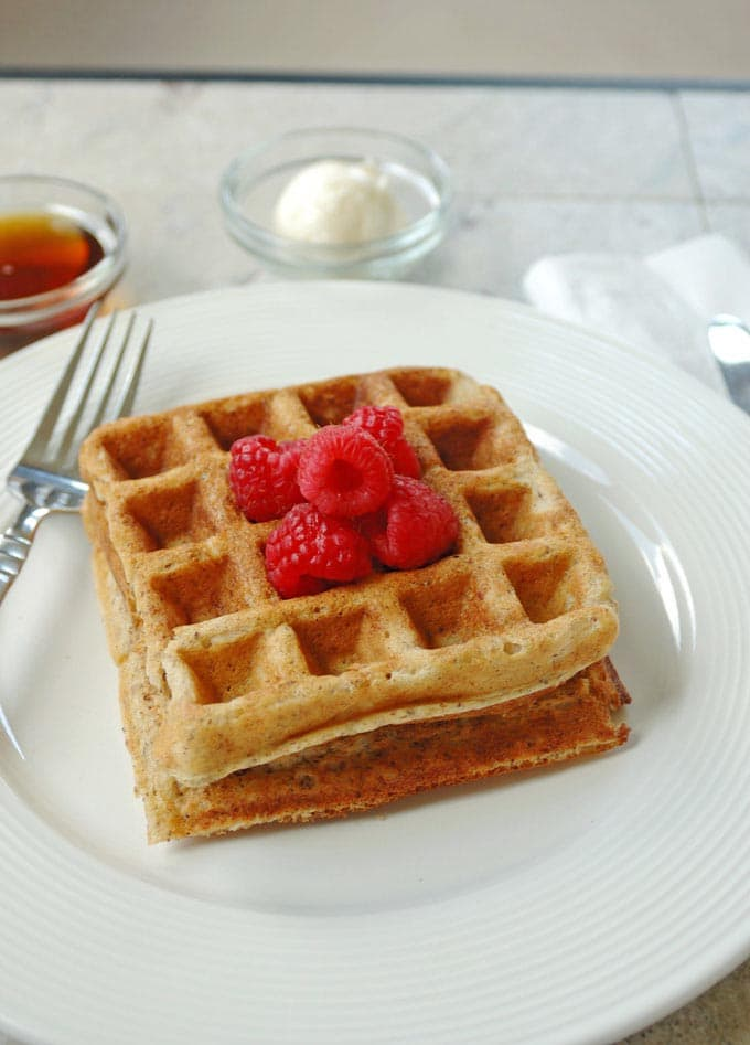 Yummy-Buttermilk-Whole-Grain-Waffles