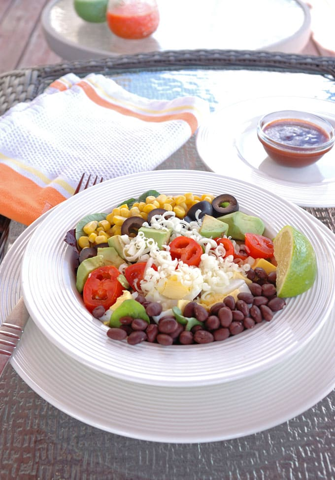 Southwest-Salad-with-Catalina-Lime-Dressing