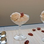 No-Churn Salted Butter Pecan Ice Cream