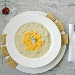 Lightened Up Broccoli and Cheese Soup