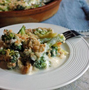 Broccoli-and-Fontina-Gratin