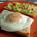 Basted-Eggs-with-Guacamole-Toast