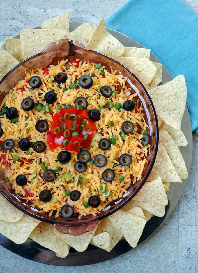 Seven-Layer-Taco-Dip-from-Scratch