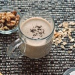 Espresso Banana Smoothie in a glass mug
