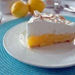 Lemon Meringue Pie with Easy Olive Oil Crust