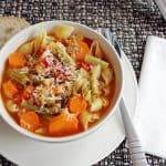 Minestrone with Fire-Roasted Tomatoes