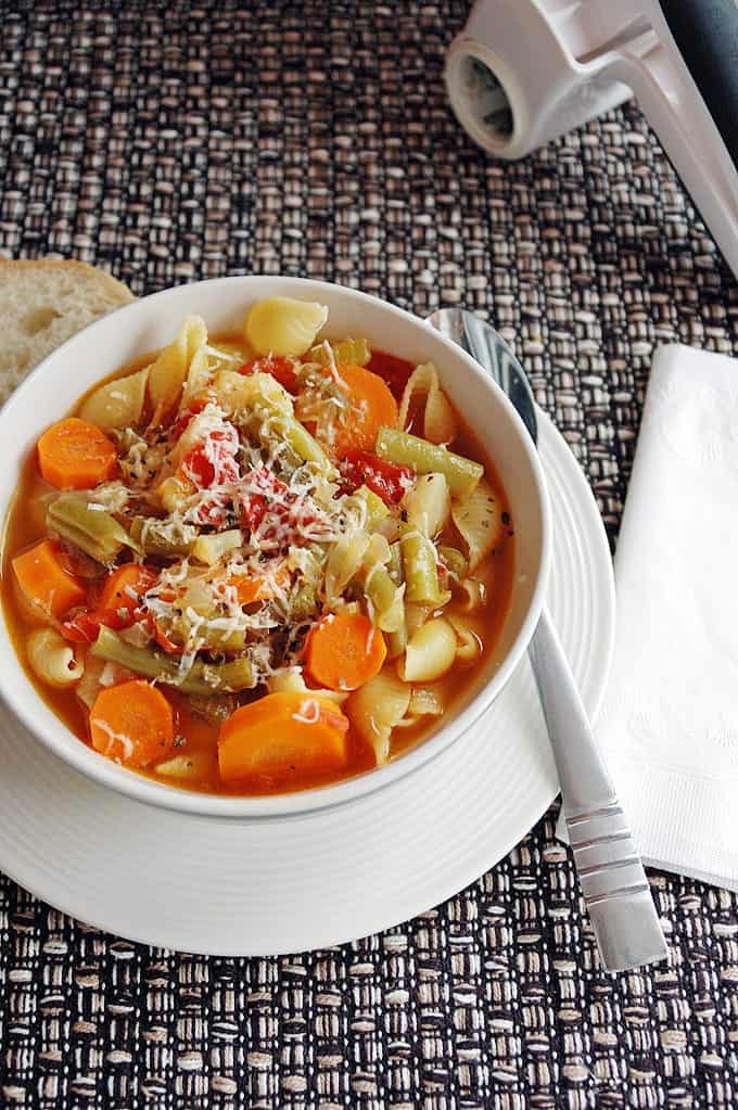 Minestrone with Fire-Roasted-Tomatoes