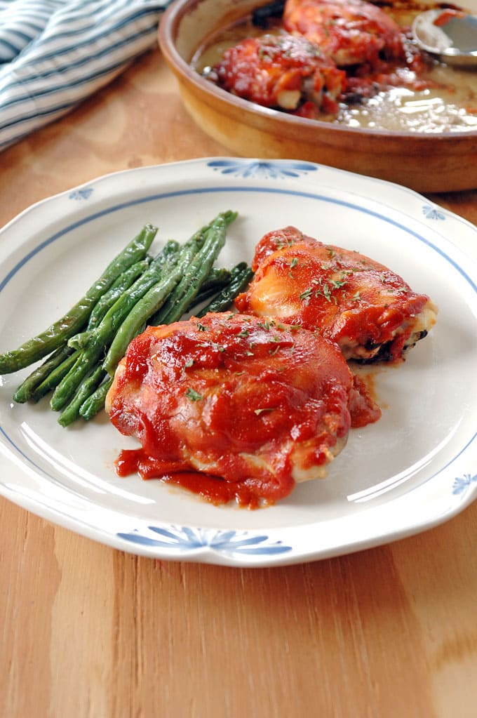 Nonna's 4-Ingredient BBQ Chicken -- So easy and delicious!