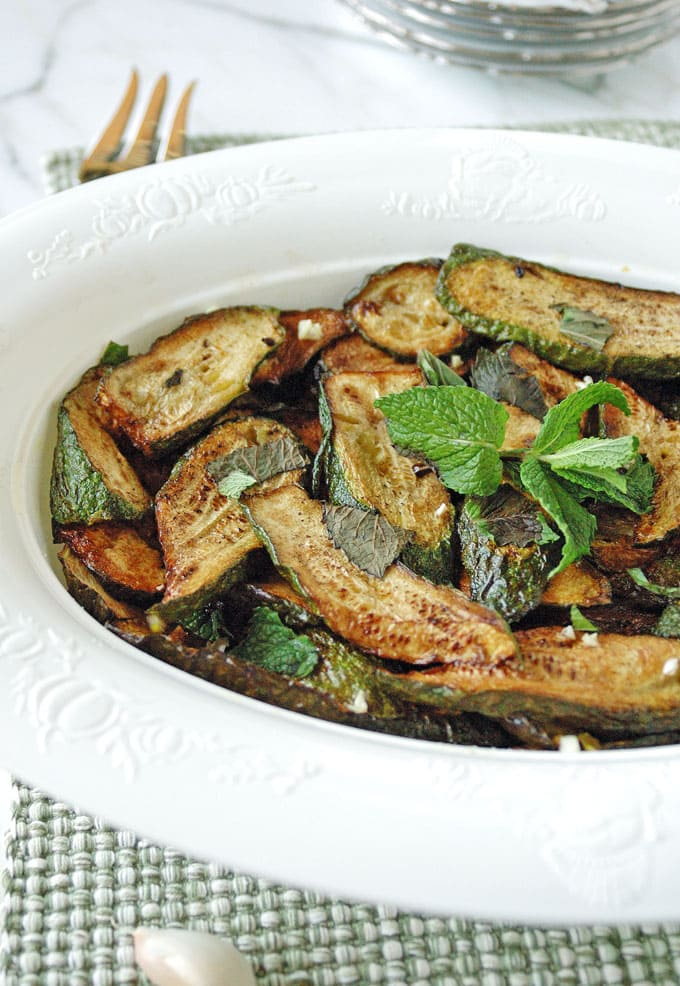 Zucchini-with-Mint