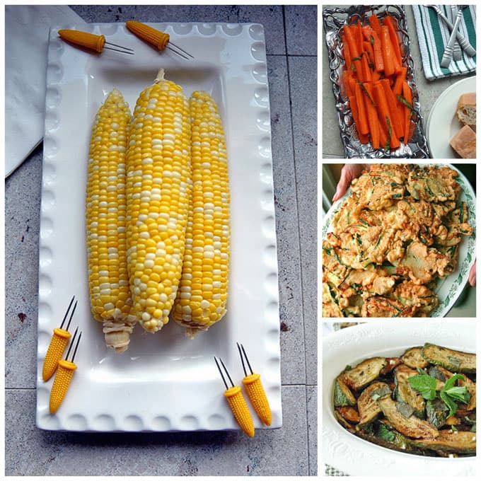 Plan your 4th of July menu with this roundup of recipes from Cooking with Mamma C! Choose from appetizer dips, entrees, salads, vegetable side dishes, fruit desserts, chocolate desserts and cakes!