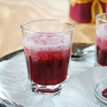 Ombre Red Wine Slushies