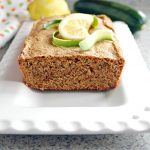 Lemony Whole Wheat Zucchini Bread