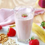 Healthy Peanut Butter and Jelly Smoothie