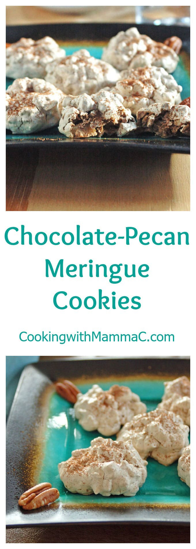Crunchy on the outside, chewy on the inside, these gluten free meringue cookies are so addictive!