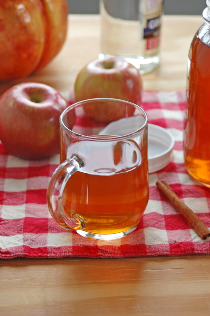 My hubby's Apple Pie Moonshine is the perfect Fall drink! It's smooth, delicious and easy! Just pour all the ingredients into a clean bucket, stir and let it sit overnight!