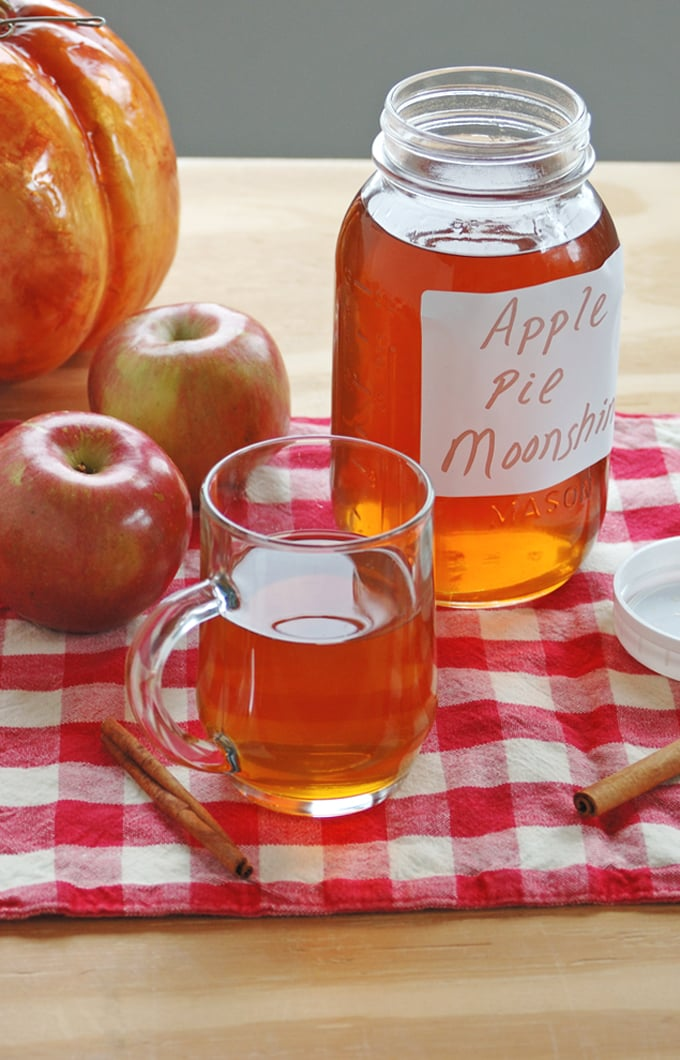 Top 10 Recipes and Highlights of 2016 on Cooking with Mamma C - Apple Pie Moonshine
