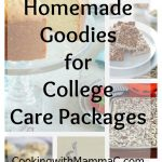10 Homemade Goodies for College Care Packages