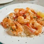 Baked Parmesan Shrimp with Garlic Butter