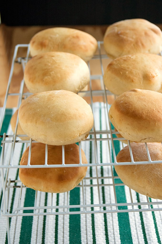 Make these Quick Hamburger Buns from scratch and elevate your burgers to a whole new level! No fancy equipment required!