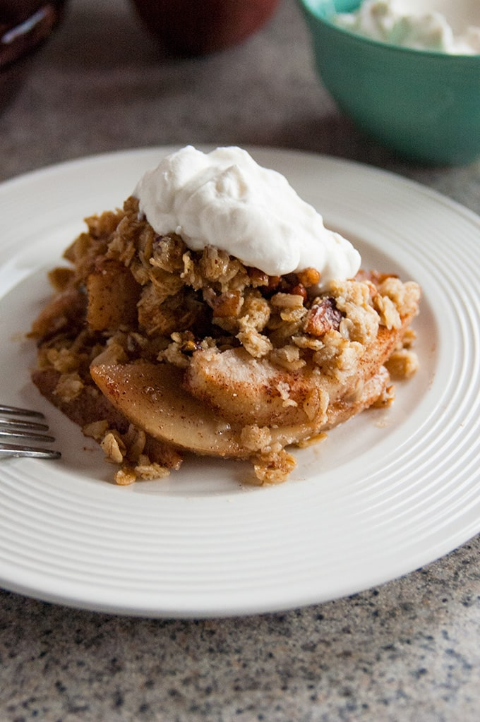 12 Easy Guilt-Free Desserts for Summer - Awesome Gluten-Free Pear Crisp