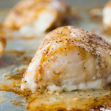 Baked Cod with Coffee Butter - So quick, easy & delicious! | Low Carb | Gluten Free | Fish | Main Dish