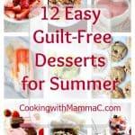 12 Easy Guilt-Free Desserts for Summer