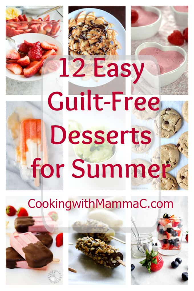 12-Easy-Guilt-Free-Desserts-for-Summer - Gluten free!