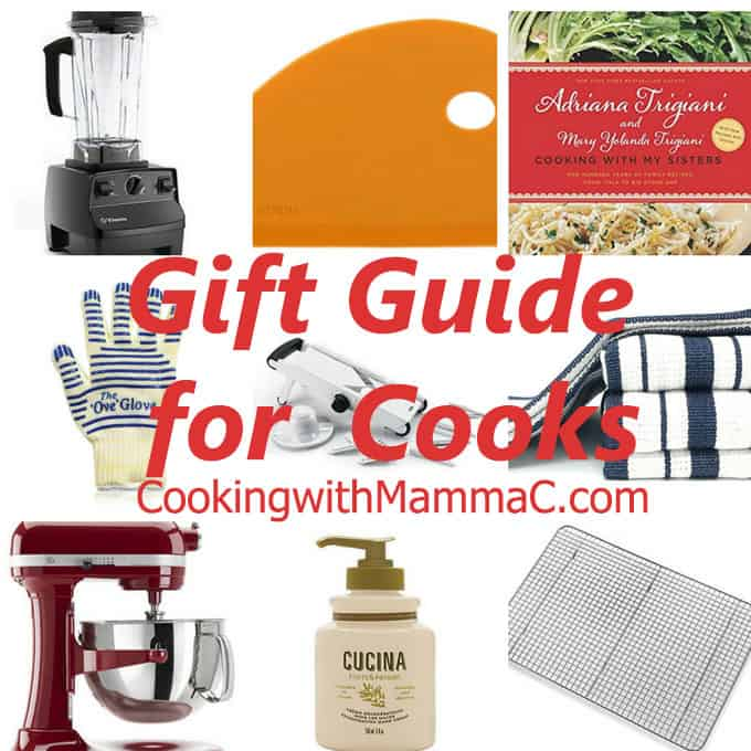 Cooking with Mamma C's Gift-Guide-for-Cooks - #giftguide #giftideas #kitchen