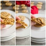 Peanut Butter Cookies with Variations - The best recipe for peanut butter cookies! Make them crispy, soft, stuffed or with chips! #peanutbuttercookies #cookies