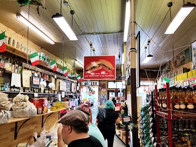 Central Grocery New Orleans Image - New Orleans Restaurants and Highlights from Our Trip #neworleans #neworleanstravel #nola