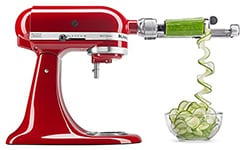 Photo of KitchenAid spiralizer attachment in Mamma C's Holiday Gift Guide