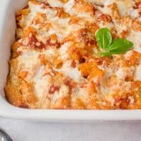 Pasta al Forno with Smoked Mozzarella