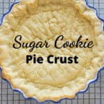 pinnable image of pie crust